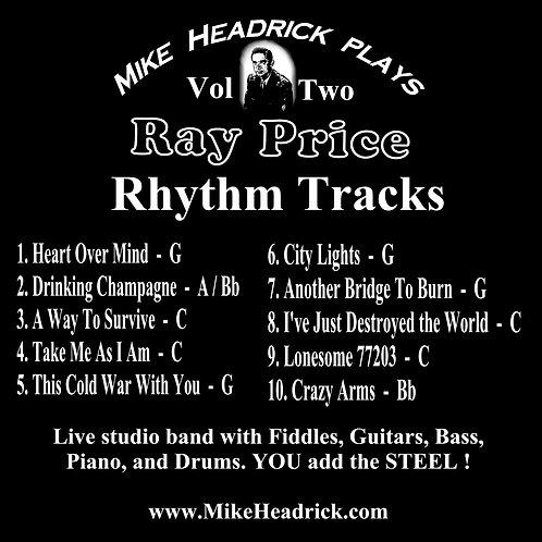 Ray Price Tribute Rhythm Tracks Vol. 2