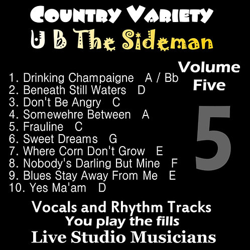 Country Variety UB The Sideman Vol. 5