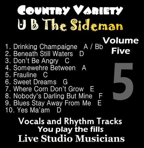 Country Variety UB The Sideman Vol  5