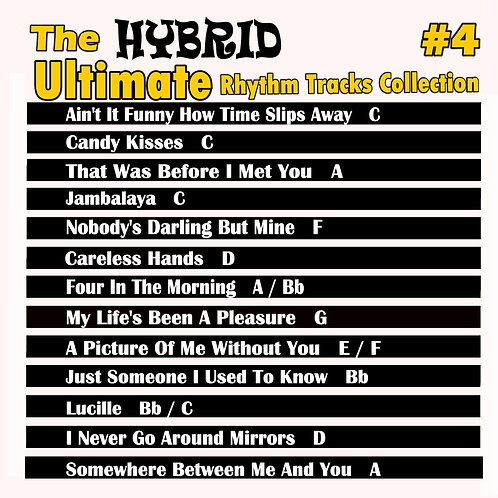The Ultimate Hybrid Rhythm Tracks Collection Vol. 4