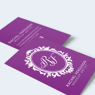 Rachel Ferguson MUA business card