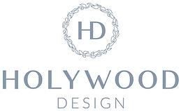 Holywood Design Logo Vintage Blue