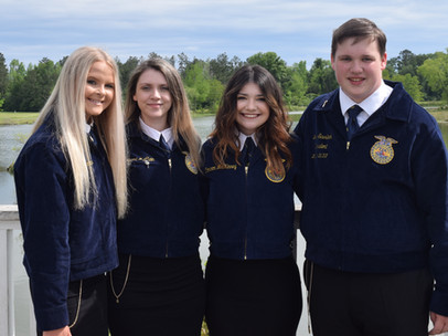 Cottondale FFA Wins 2nd State Championship, Along with Several State Honors