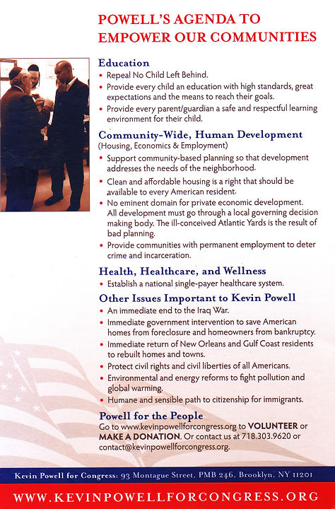 Kevin Powell for Congress 2008