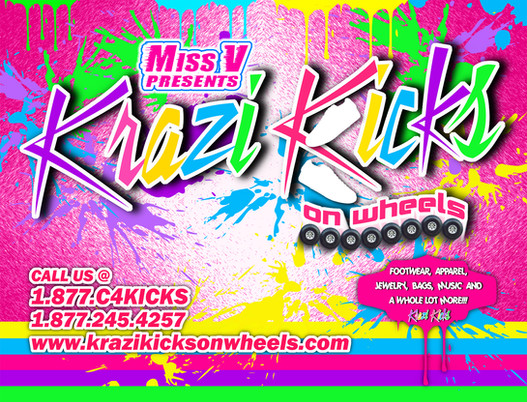 Krazi Kicks Flyer
