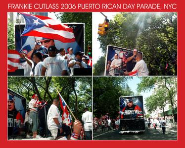 Frankie Cutlass 2006 Puerto Rican Day Paradee Float