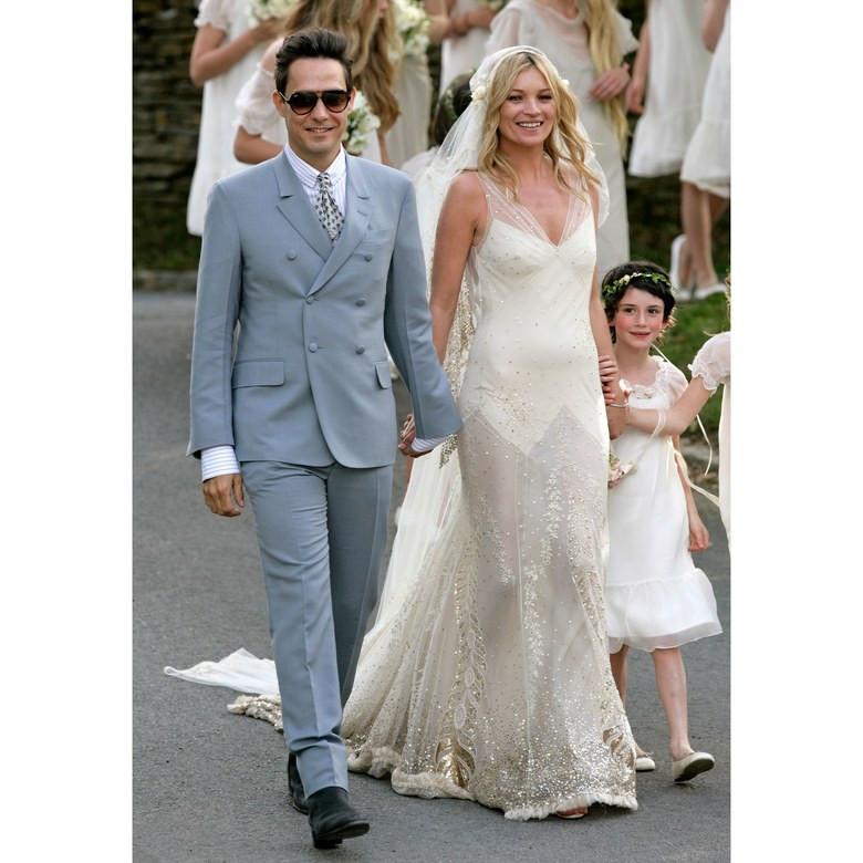 Kate Moss és Jamie Hince esküvő
