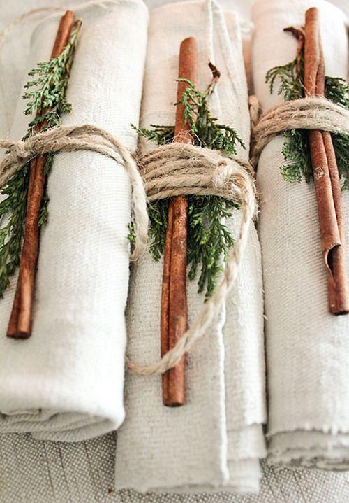 fahéj esküvői dekorációban