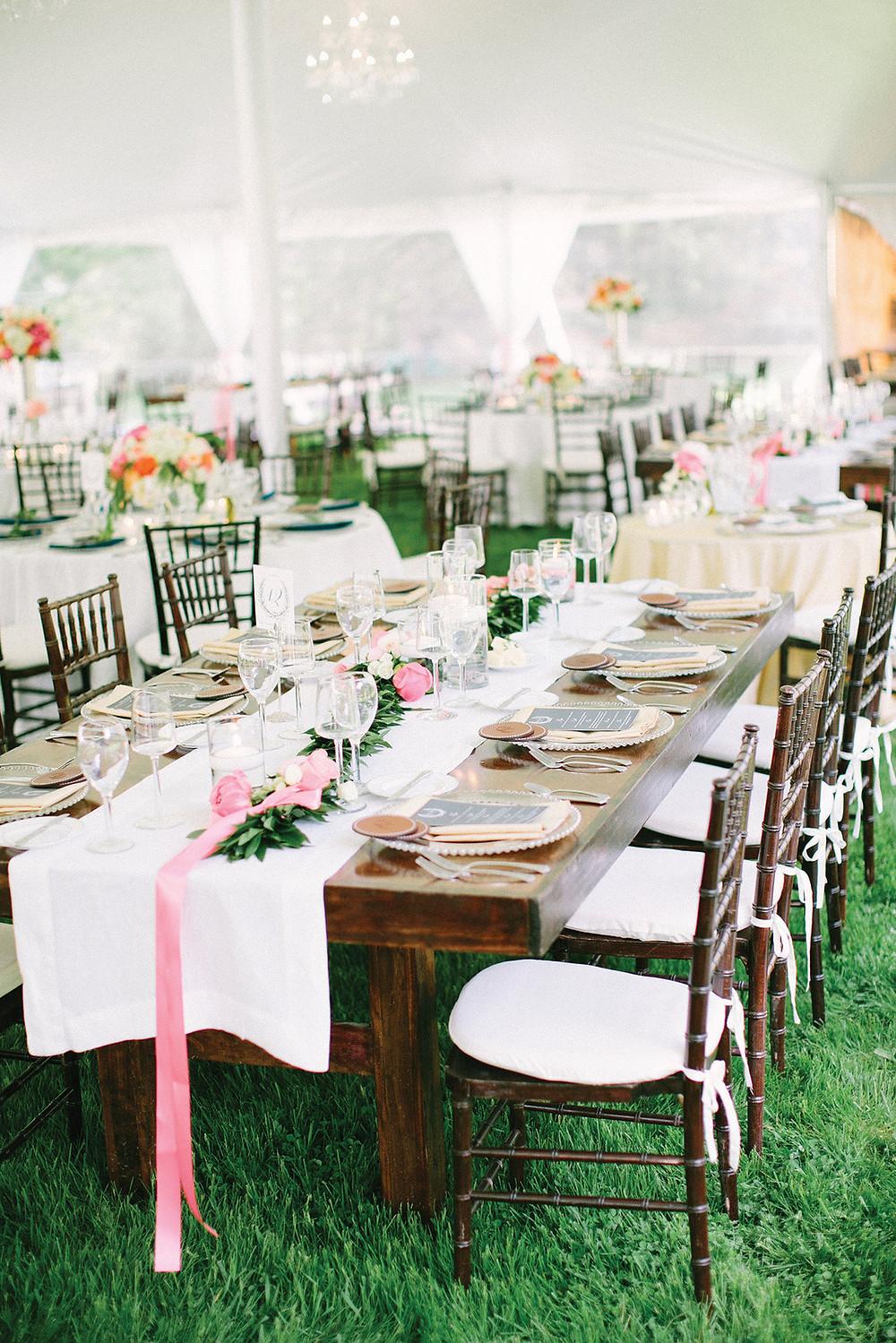 vintage terítés,díszítés esküvőre