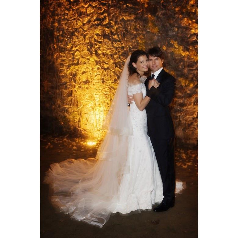 Katie Holmes és Tom Cruise esküvő