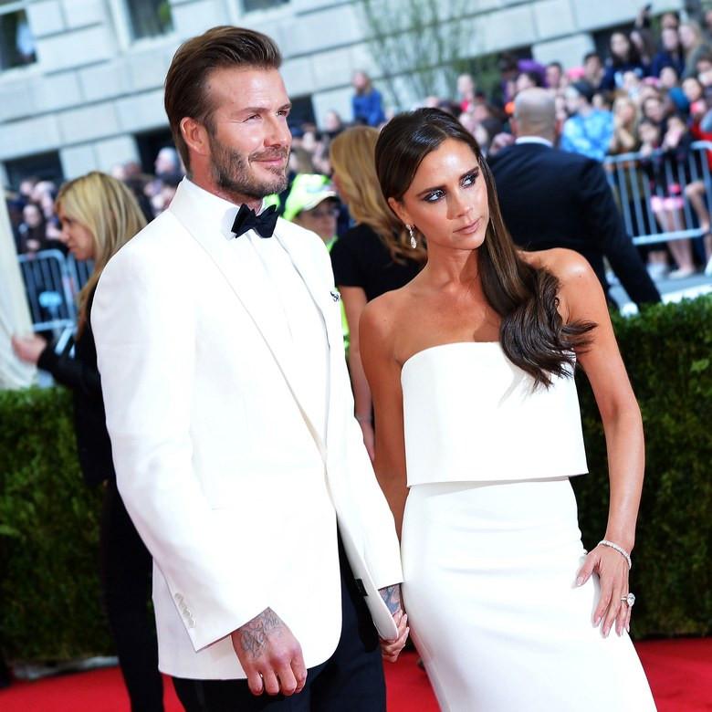 Victoria Adams és David Beckham