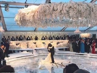 Így néz ki egy igazi luxusesküvő
