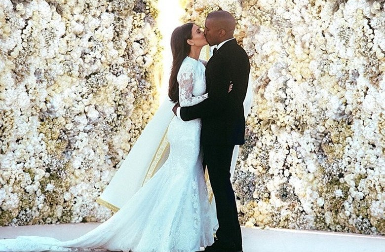 Kim Kardashian és Kanye West esküvő