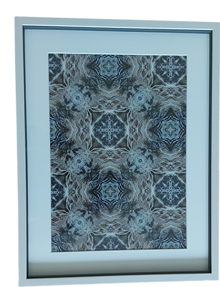 Mineral Framed Print