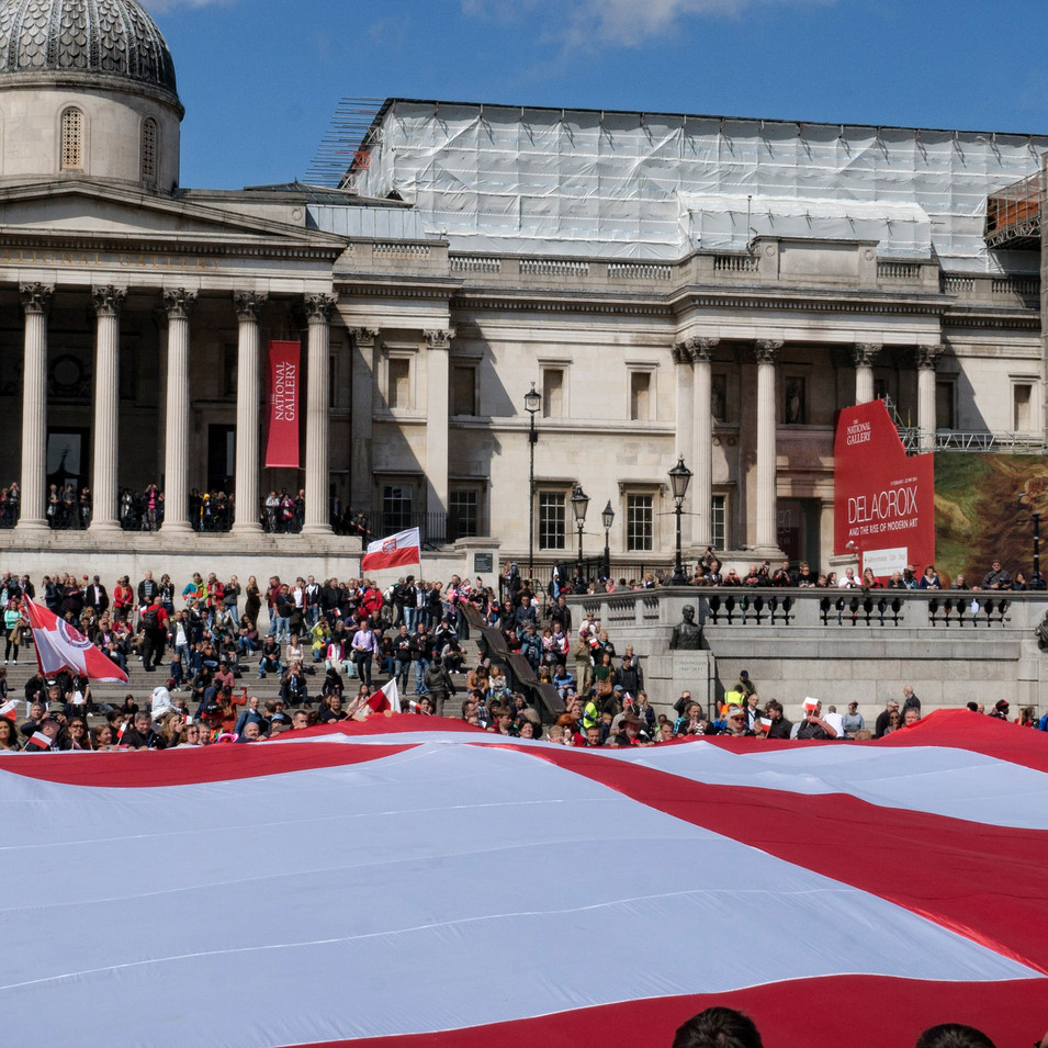 Polish Flags Day London 2016
