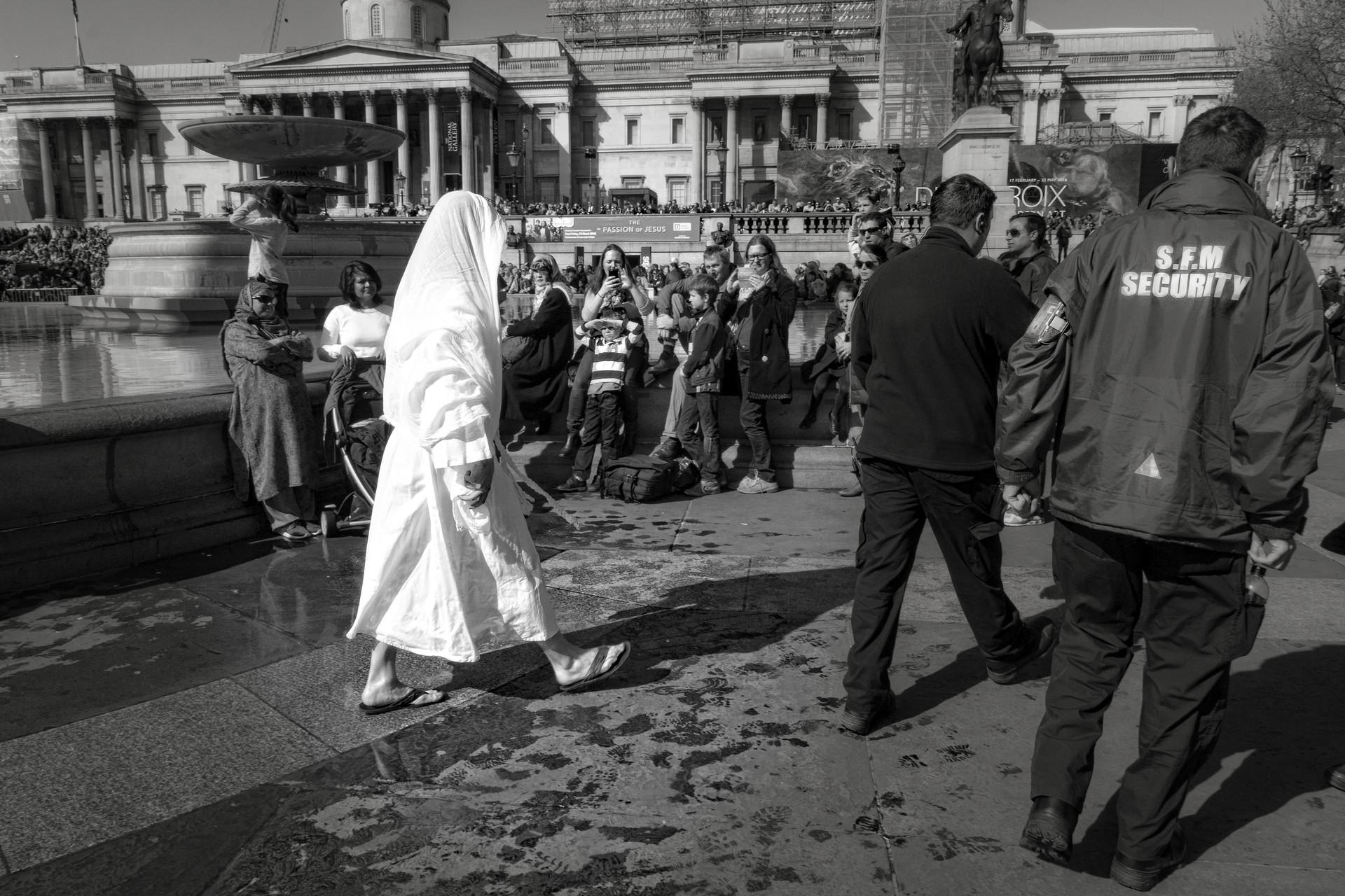 Jesus on Trafalgar Square