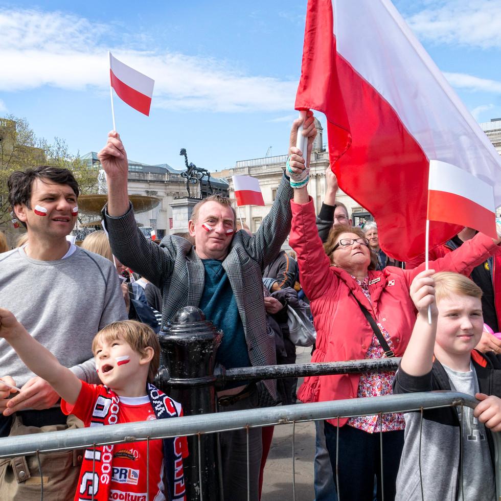 Polish Flags Day London 2016