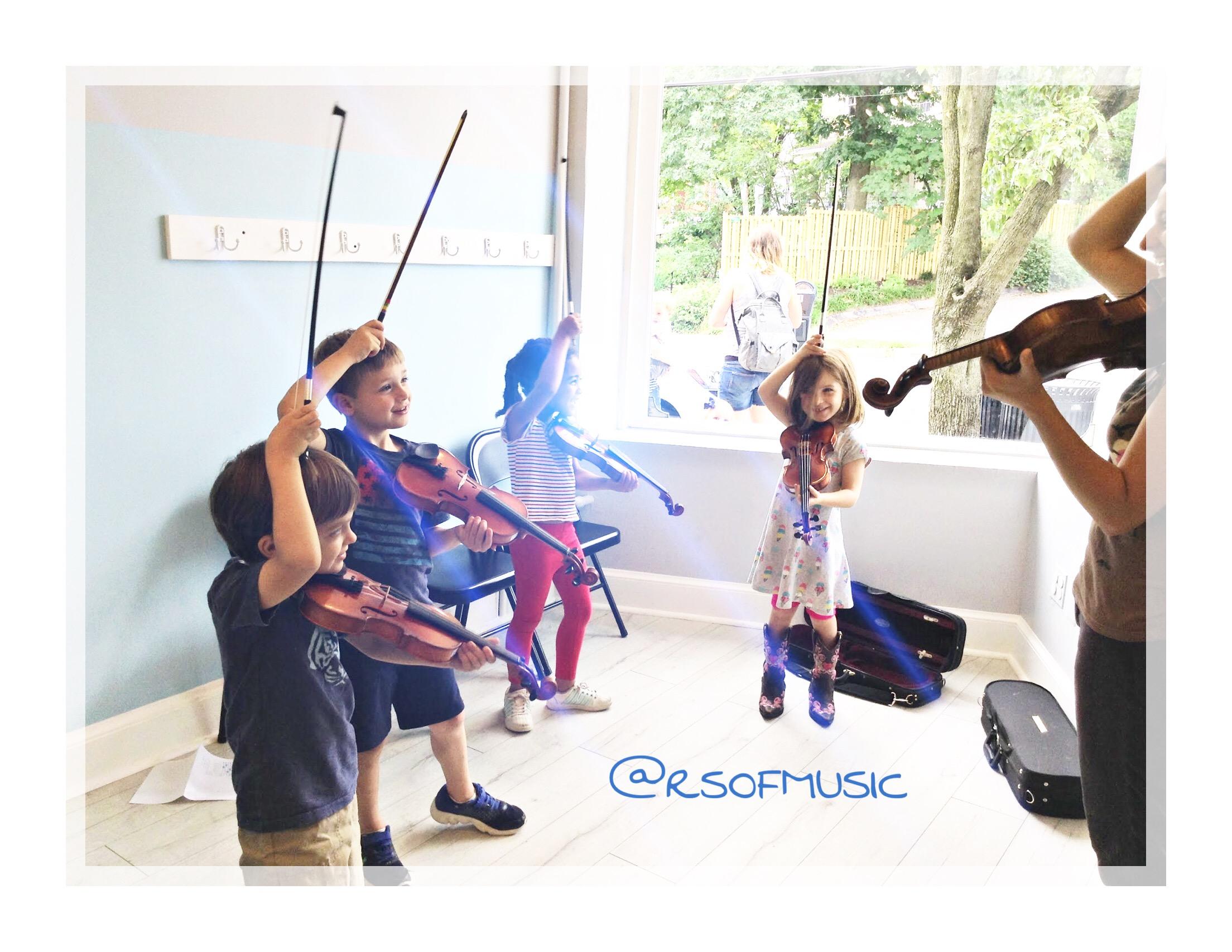 Group Violin Lessons | Takoma Park | Richardson School of Music