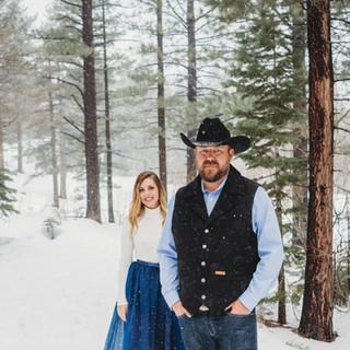 Spokane Washington Engagement, Lake Tahoe Engagement session