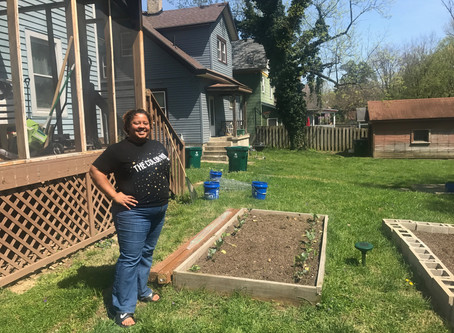 Meet Camielle, Not Your Average Gardener!