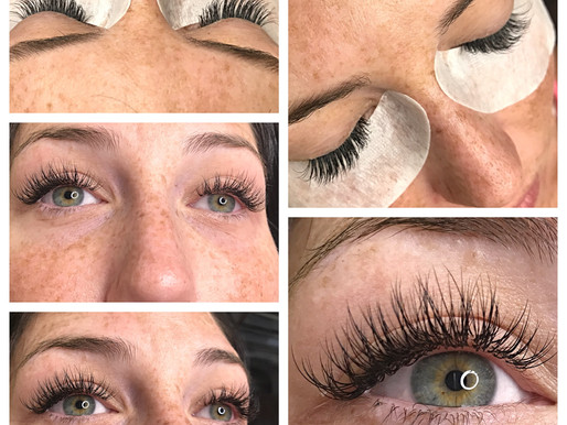 The most common styles of Eyelash Extensions