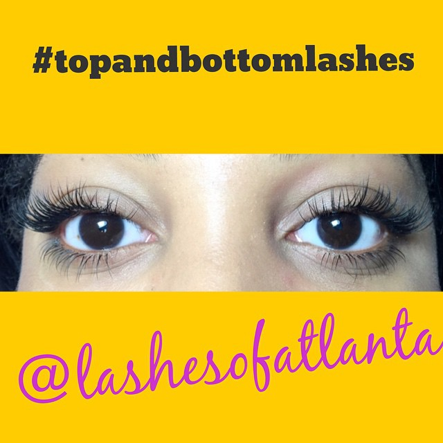 Instagram - Top and bottom lashes are so amazing!! Ladies you will love this loo