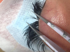 Example of Volume Lashes