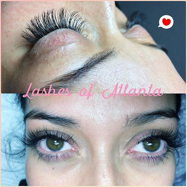 This beauty was #lashed by one of our top #lashtech Jessica. She's been doing #eyelashextensions in