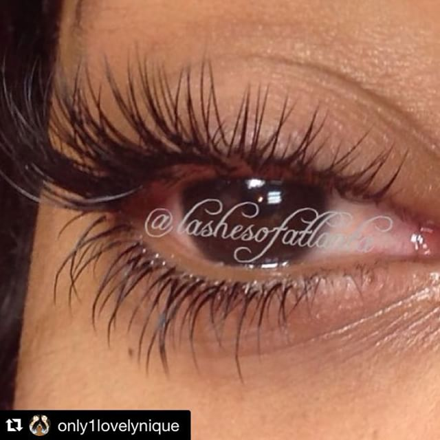 Instagram - Love client love!! These lashes are 🔥 @only1lovelynique has da bomb
