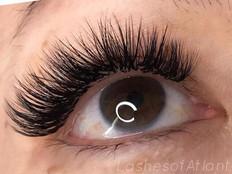 Hybrid Volume Eyelash Extensions