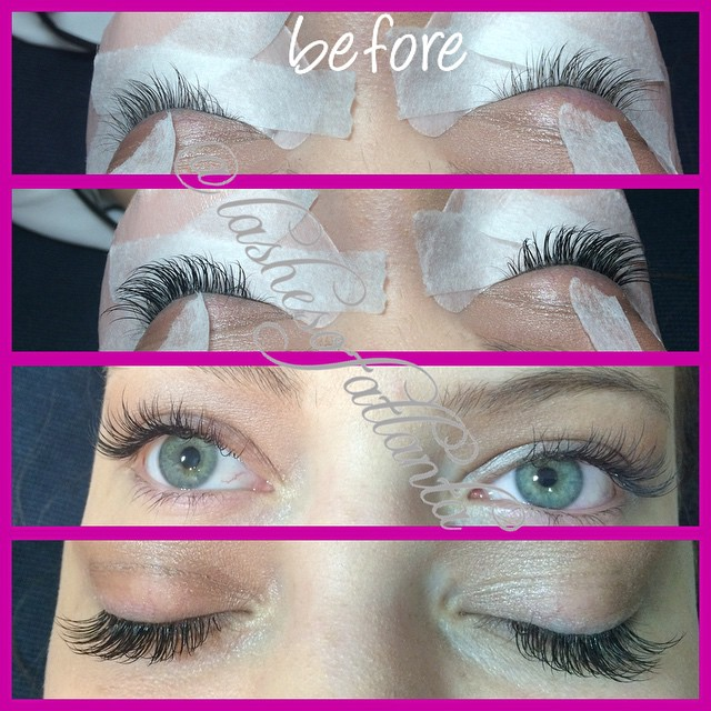 Instagram - Luxurious beautiful lash extensions, lashed the beautiful @savannahr