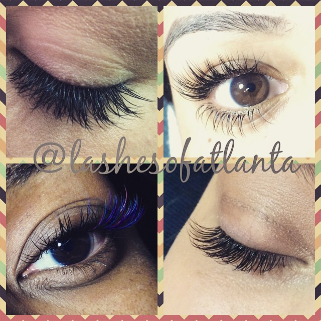 Instagram - Get lashed for the spring! Make your eyes the center of attention! #