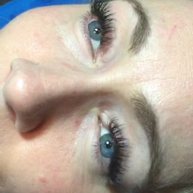 Lovely _lynnette1811  loves her lash extensions!! And I love Lashing this beauty! 😍 #EyelashAddicts