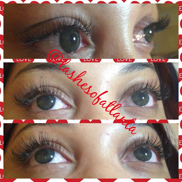 Instagram - Vday lashes on fleek!!! #getlashed #lashextensionsatl #perfectlashes
