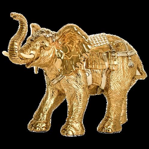 مجسمه فیل طلای هند
