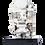 Silver Tlaloc Statue