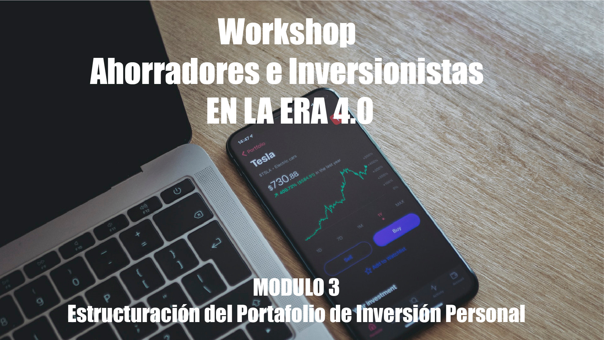 Workshop Ahorradores Inversionistas M3