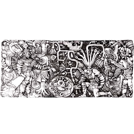 Mayan Ball Game Relief