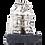 Silver Chac Mool Statue