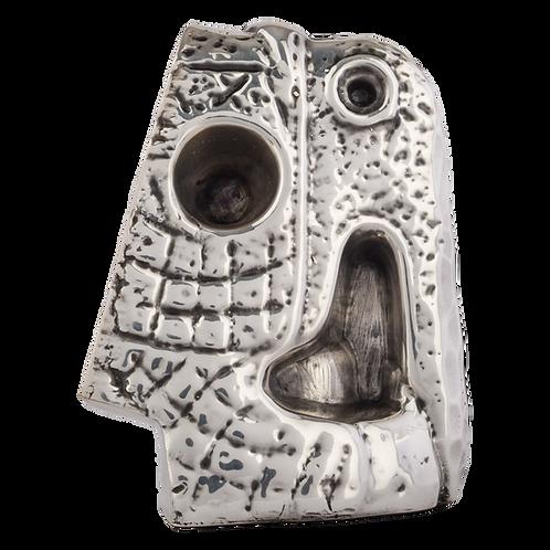 Silver Parrot Statue - Toznene Small