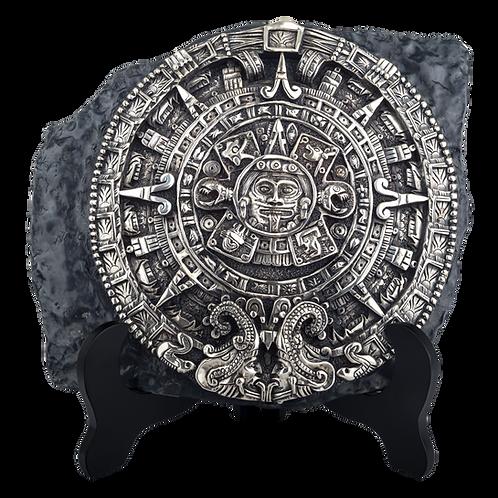Aztec Calendar Replica Relief