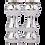 Thumbnail: نگهدارنده شمع نقره ای Peom