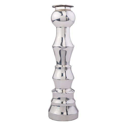 Silver Candle Holder Alfil