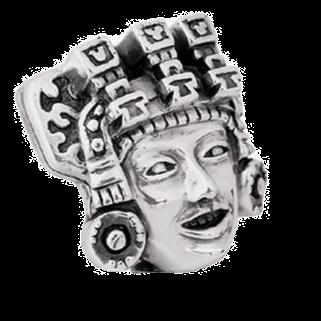 Teotihuacan's Kings Face Figurine