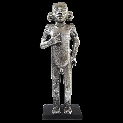 Silver Dhipak Statue Tamuín Adolescent