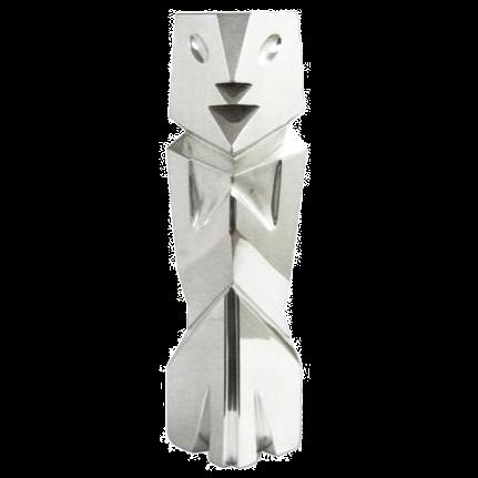 Mezcala Silver Human Sculpture