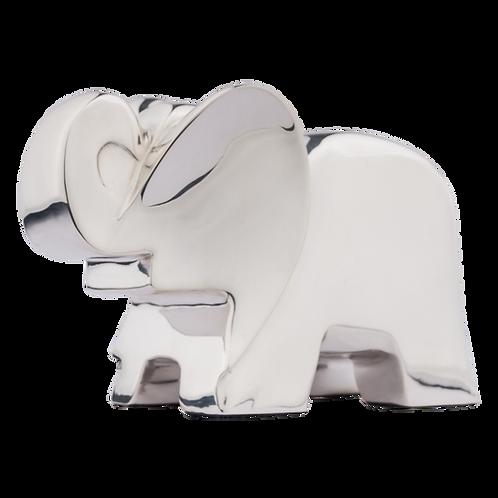 Silver Elephant Sculpture by Pedro Ramírez Vázquez