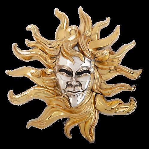 Gold Sun Mask