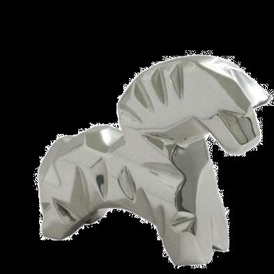 Kauayo Silver Horse Figurine