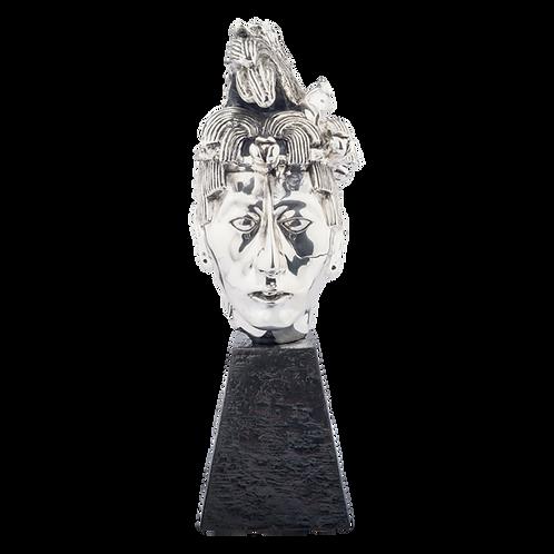 K'ínich Janaab'Pakal Head Statue Replica